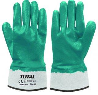 ถุงมือผ้าบางอุตสาหกรรมเคลือบเต็ม
