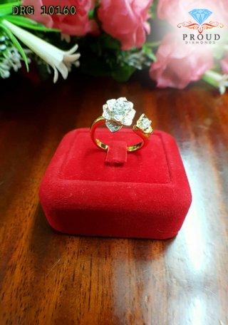 แหวนดอกกุหลาบ DRG 0160