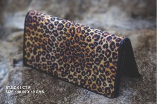 LEOPARD LONG WALLET