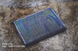Stingray ray weaved wallet