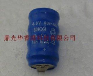 แบตเตอรี่ NI-CD 4.8V 60MAH