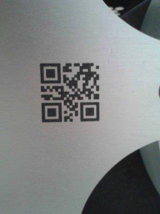 ป้ายเนมเพลท Barcode