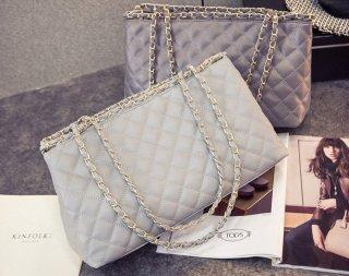 กระเป๋าหนัง สไตล์ Chanel TB-034