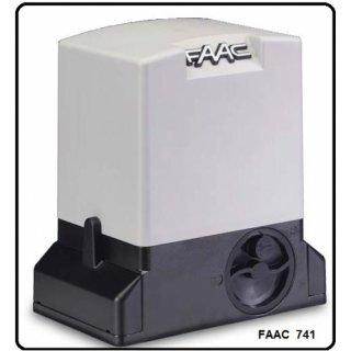 มอเตอร์ประตูรีโมท FAAC 740 741 900 kg