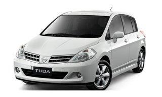 ให้เช่ารถยนต์ Nissan Tiida