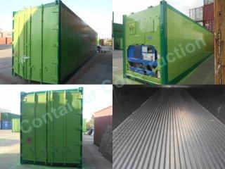 ตู้คอนเทนเนอร์แบบห้องเย็น 40 HCRF 002