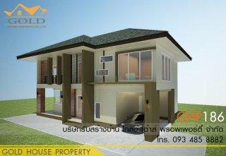 แบบบ้านสองชั้น GHP186