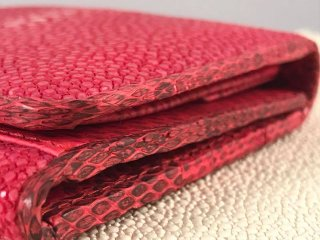 Stingray Skin trifold wallet