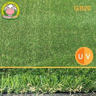 หญ้าเทียมปูพื้น สีเขียวน้ำตาล