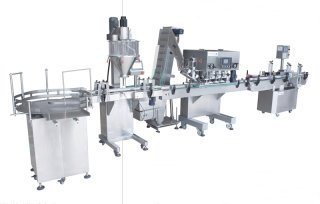 AUTOMATIC FILLING-CAPPING-LABELLING SYSTEM BAF500