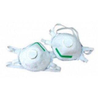กันฟูมโลหะ สีขาว Disposible Mask