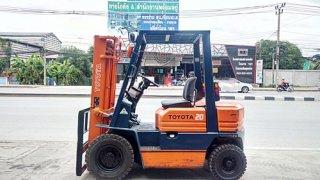 Toyota Forklift 2 ton Model 5 of gasoline