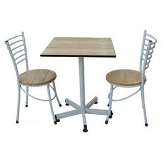 ชุดโต๊ะอาหารไม้เมลามีน พร้อมเก้าอี้