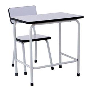 โต๊ะอนุบาลหน้าขาว + เก้าอี้ชุดเดียว