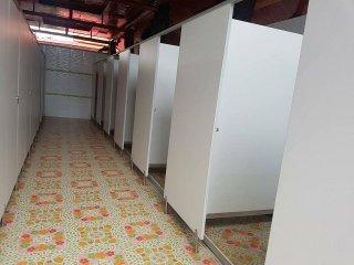 ผนังกั้นห้องน้ำ พัทลุง