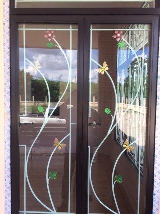 รับทำเหล็กดัดประตู-หน้าต่าง