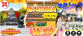 KR25 ROMANTIC SEORAK IN KOREA 5D3N BY XJ (ไฟท์บ่