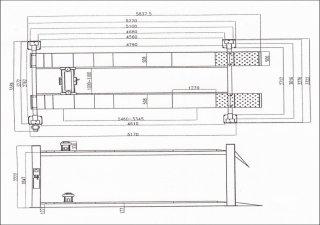 ลิฟท์ 4 เสาตั้งศูนย์ขนาด 5 ตัน รุ่น F4D-4WL
