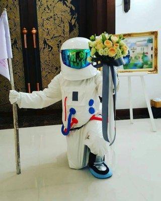มาสคอตนักบินอวกาศ