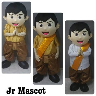 มาสคอตเด็กชายชุดไทย