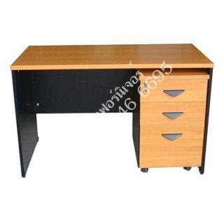 โต๊ะทำงานเมลามีน 25 มิล (โล่ง)