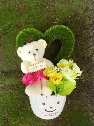 กระถางหมี