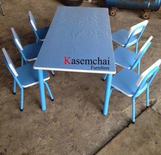 ชุดโต๊ะอนุบาล ลามิเนตสี