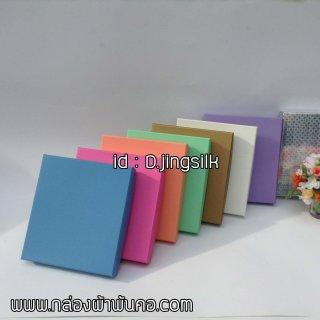 กล่องผ้าพันคอ กล่องกระดาษแบบที่2