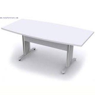 โต๊ะประชุมทรงเรียว ขาเหล็ก