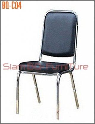 เก้าอี้จัดเลี้ยง พนังพิงเหลี่ยม