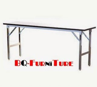 โต๊ะพับอเนกประสงค์ หน้าโฟเมก้าขาว