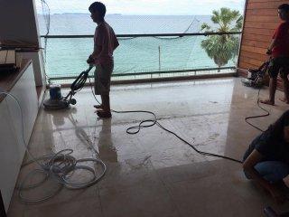 รับจ้างขัดเงาพื้นหินอ่อนทั่วไทย