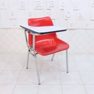 เก้าอี้โพลีเลคเชอร์ ขาเหล็กกล่อง