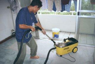 รับทำความสะอาดโชว์รูมรถยนต์ เขตบางพลัด