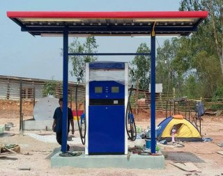 Mini Fuel Station A-Type 2x4m