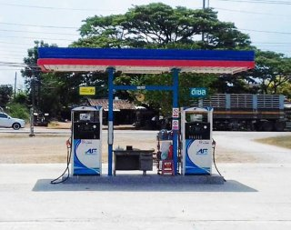 Small Fuel Station B-Type 3x6m