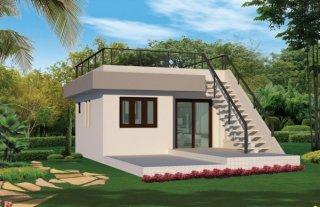 สร้างบ้านชั้นเดียวราคาถูก