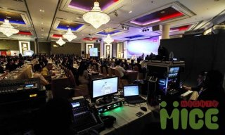 Audio-Visual Systems and Backdrop Design&Lighting