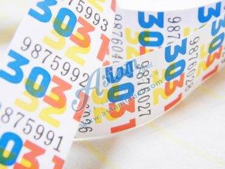 ป้ายพิมพ์ติดเสื้อผ้า runnign number