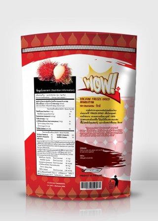 Freeze Dry Rambutan
