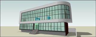 รับออกแบบอาคารสำนักงาน