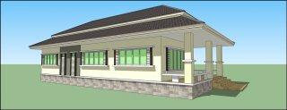 บริการออกแบบบ้านพักอาศัย