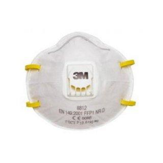 หน้ากากกันฝุ่น/เคมี 3M รุ่น 8812 P1