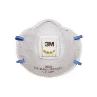หน้ากากกันฝุ่น/เคมี 3M รุ่น 8822 P2