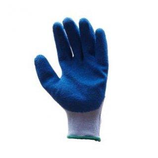 ถุงมือถักเคลือบยางธรรมชาติสีฟ้า MICROTEX รุ่น 300