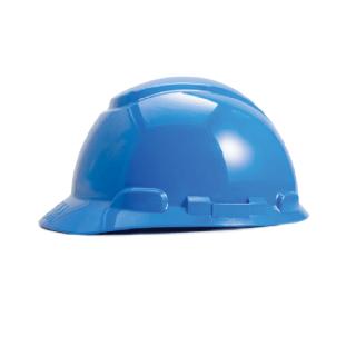 หมวกนิรภัย แบบปรับหมุน รุ่น H-700R (สีน้ำเงิน)