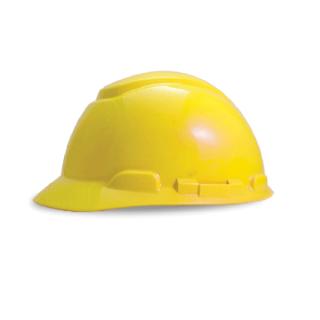 หมวกนิรภัย แบบปรับหมุน รุ่น H-700R (สีเหลือง)
