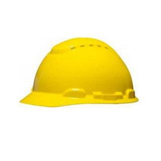หมวกนิรภัย แบบระบายอากาศ รุ่น H-700V (สีเหลือง)