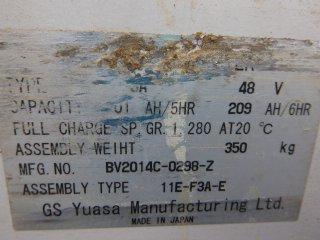 รถโฟล์คลิฟท์ NYK FBRMA13H 75B 500M 124AE0638