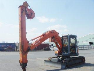 เครื่องจักรก่อสร้าง HITACHI EX75US 5 1CAP021479